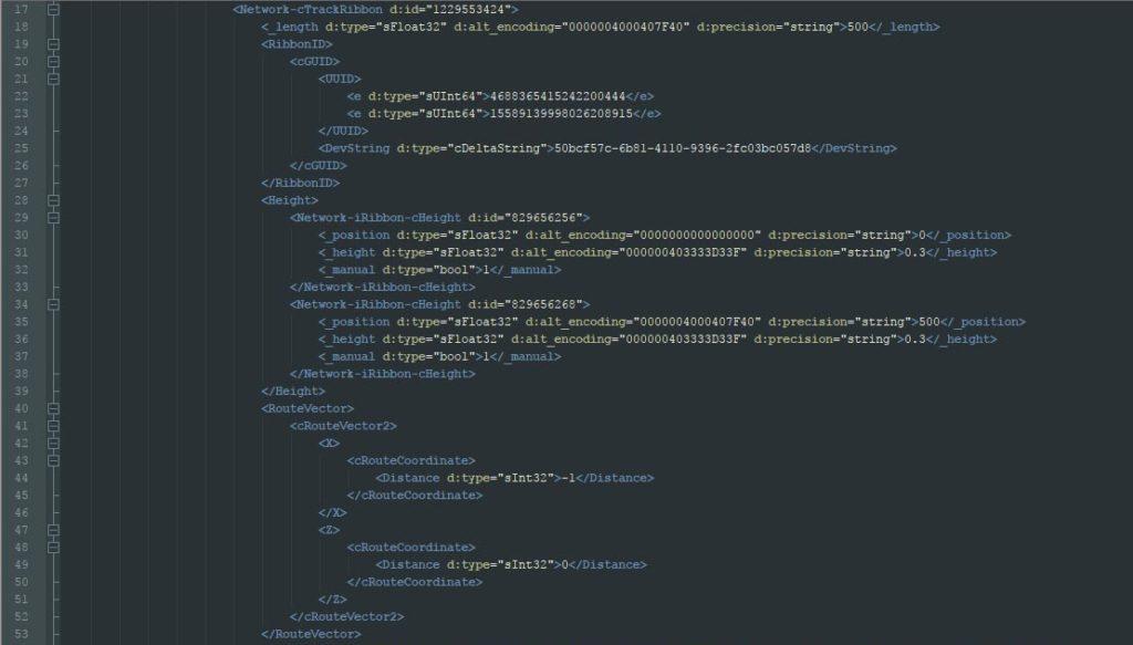 xml code 03